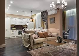 modern interior design apartments. Classic Style Adding Chic Look To Cozy Apartment, Interior Design In Eclectic Modern Apartments