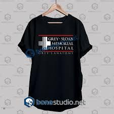 Grey Sloan Memorial Hospital T Shirt Adult Unisex Size S 3xl