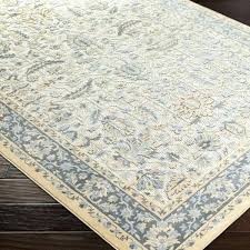 yellow area rugs mills gray