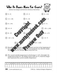 Grade 7 Common Core Math Worksheets - Math Funbook