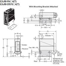 ejm rm us terminal block model omron valin built in power supply photoelectric sensor e3jm