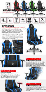 Image High End It Is Super Comfy With Higher And Wider Backrest Deeper And Wider Seat Base Upgraded Extra Large Casting Aluminum Wheel Base Provides Ultimate Stability Reddit Alien Xl Serie Gaming Office Chair Racing Seat Super Comfy Spec