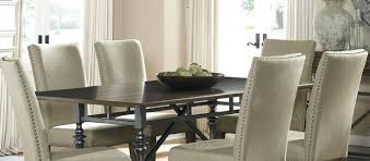fabric upholstered dining chairs