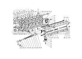 ferrari gt berlinetta boxer > engine order online eurospares ferrari 365 gt4 berlinetta boxer cylinder head left diagram