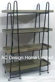 4 tier antique vintage decorative wooden metal wrought iron shelf brackets china sh
