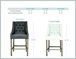 Bar Stool Size Chart Metal Counter Height Bar Stools With Backs Set Of 4 Cheap