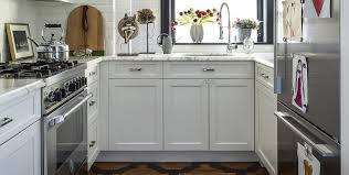 cool and ont small kitchen white cabinets 7
