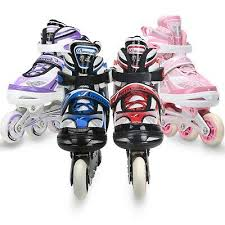 Roller Derby Boy S Tracer Adjustable Inline Skate Size Chart Adjustable Inline Skates For Kids 5 To 12 Years Old Girls Boys Size 13j 3 4 6 Ebay