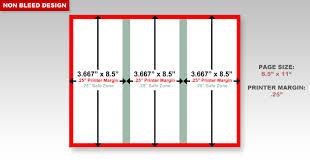 Trifold Brochure Size Dimensions Of A Brochure Rome Fontanacountryinn Com