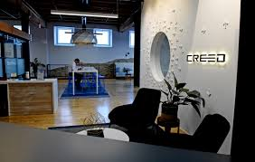 software company office. Jonathan Anderstrom, President And Co-founder Of Creed Interactive, A St. Paul Software Company Office