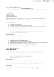 Sample Of Call Center Resume Best of Call Center R Best Call Center Resume Examples Sample Resume Template