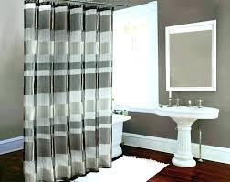 chevron shower curtain target s grey black and white yellow orange print