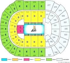 Pepsi Center Seating Map Norishiro Co