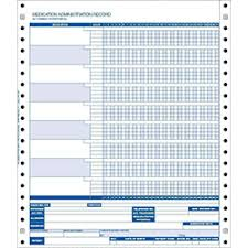 Medication Administration Record Template Pharmacy Supply Products Integral Rxsupplies