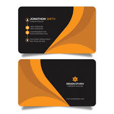 Visiting Card Design Black And Gold Visiting Card With Gold And Black Pattern Free Customize