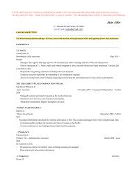 Resume After College Jmckell Com