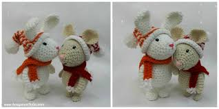 Amigurumi Patterns Free Fascinating Winter Bunny Free Amigurumi Pattern Amigurumi To Go