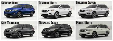 2018 nissan highlander. fine nissan 2017 nissan pathfinder colors magnetic black caspian blue pearl white gun  metallic for 2018 nissan highlander