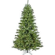 norway pine artificial tree with clear smart string lighting