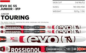 Amazon Com Rossignol Evo Xc 55 Junior Ifp Xc Skis W Step