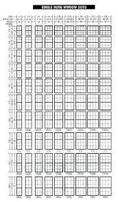 Egress Window Size Chart Egress Window Sizes Ashel Info