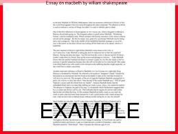 essay on macbeth by william shakespeare college paper service essay on macbeth by william shakespeare shaun yudin the tragedy of macbeth by william shakespeare