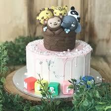 Animal Themed Cake 1st Birthday Cake Kids Birthday Cake Free