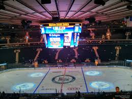 Msg Ny Rangers Seating Chart Madison Square Garden Section 211 New York Rangers