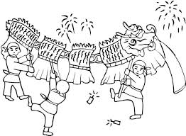 Chinese New Year Coloring Page Printable Coloring Pages