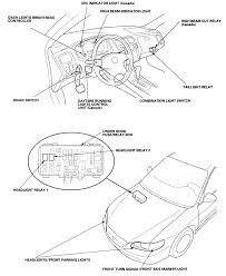 Where is the daytime running light module on a 1999 honda accord graphic