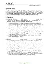 Entry Level Project Manager Resume - Kerrobymodels.info
