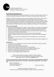 Weblogic Administration Sample Resume Unique Grant Cover Letter