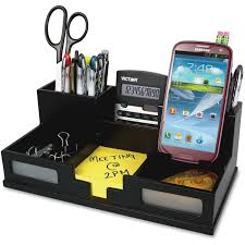 Desk Organizer Victor 9525 5 Phone Holder Desk Organizer 6 Compartments 35