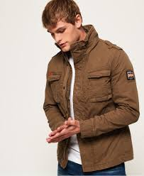 Superdry Mens Jacket Size Chart Superdry Classic Rookie Military Jacket For Mens