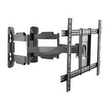 fixation support tv logilink full motion corner tv wall mount bras rég