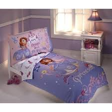 4 piece toddler bed set sweet princess bedding comforter sheets sofia