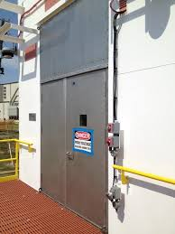 Blast resistant door by G21 by InterDam - Technical specifications