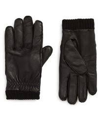 Barbour Quilted Leather Gloves in Black for Men | Lyst & Barbour | Barrow Leather Gloves | Lyst Adamdwight.com