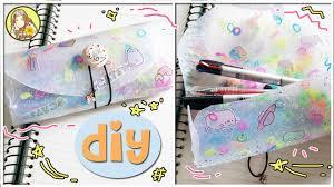diy hot glue pencil case no sew no zipper diy back to school