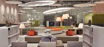 colorful office space interior design. Wonderful Space Colorful Open Office Space To Interior Design