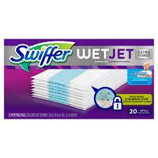 swiffer wet jet 20 pack refill