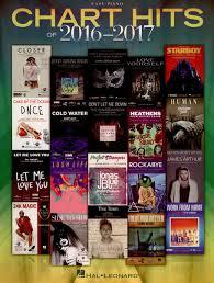 Hal Leonard Chart Hits 2016 2017 Easy P