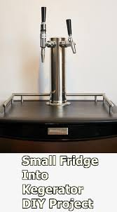 converting small fridge into kegerator diy project the homestead survival