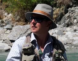 Fly fishing guru April Vokey & rod maker Carl McNeil   RNZ