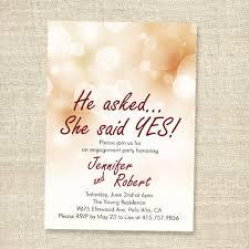 Affordable Shimmery Elegant Engagement Party Invitation