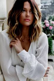 Meilleur Belle Coiffure Femme Cheveux Mi Long Coloration