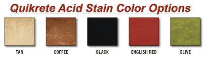 Quikrete Concrete Stain Colors Chart Quikrete Concrete Stain Colors Chart Www Bedowntowndaytona Com