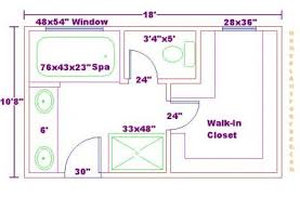 Master Bathroom Floor Plans With Walk In Closet And Free Addition Plan Throughout Innovation Ideas