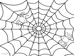 web drawing spider web coloring page printable spider web coloring pages for