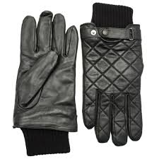 Buy Barbour Lifestyle Mens Black Quilted Leather Gloves at Hurleys & ... Barbour Lifestyle Mens Black Quilted Leather Gloves ... Adamdwight.com
